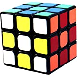YJ 3X3X3 Guanlong Black Speed Puzzle Cube Twisty Toy