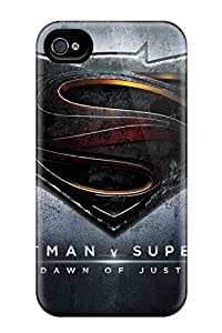 First-class Case Cover For Iphone 4/4s Dual Protection Cover Batman Vs Superman Dawn Of Justice Logo