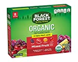 Black Forest Organic Fruit Snacks, Mixed Fruit, Certified USDA Organic, Fat Free & Gluten Free Fruit Snacks, Assorted Flavors, 0.8 Ounce Bag, 8 Pack (64 count)
