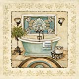 Spa Vacation I - Poster by Charlene Winter Olson (12x12)