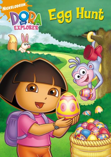 DVD : Dora the Explorer: The Egg Hunt
