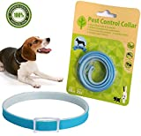Flea & Tick Collar Pest Control Collar for Dogs and Cats Repel Fleas