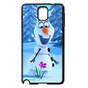 [QiongMai Phone Case] For Samsung Galaxy NOTE3 Case Cover -Movie Frozen Pattern-IKAI0446758