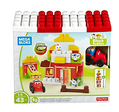 Farm Blocks - Mega Bloks Farmhouse Friends Building Set