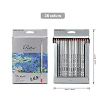 Colored Pencils Classic Artist Colors Professional Marco Fine Drawing Pencils Non-toxic for Writing Drawing Sketching (36 colors)