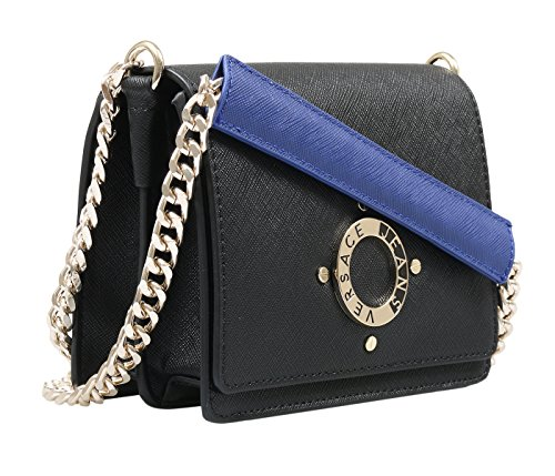 Versace-EE1VQBBU3-EMAG-BlackBlue-Shoulder-Bag