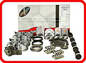 amazoncom master engine rebuild kit fits   ford sbf    wflat top pistons