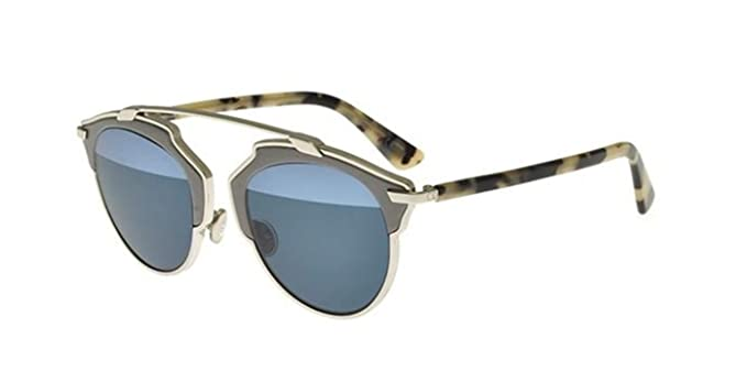 54835c4ab7 Image Unavailable. Image not available for. Color  New Christian Dior So  Real Leather P7Q 8N palladium grey ...
