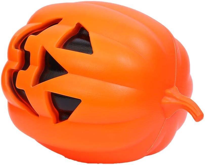 Lightahead Orange Halloween Pumpkin LED Light Battery Powered Decoration Light Night Light