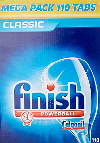 Finish Calgonit Classic, Spülmaschinentabs, Megapack, 110 Tabs