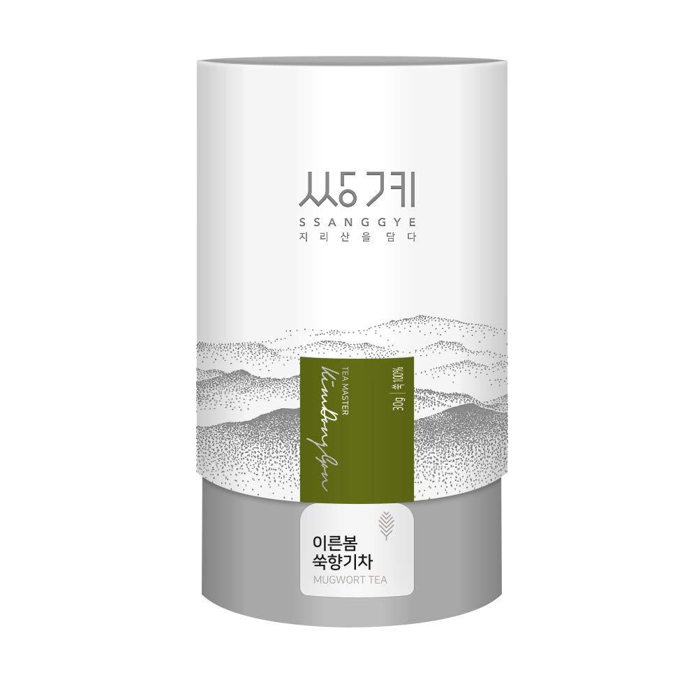 Korean Ssangkye Mugwort Tea - 30g (Loose Tea)