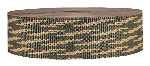 - Strapworks Heavyweight Polypropylene Webbing - Heavy Duty Poly Strapping for Outdoor DIY Gear Repair, 1.5 Inch x 10 Yards, Woodland Camo