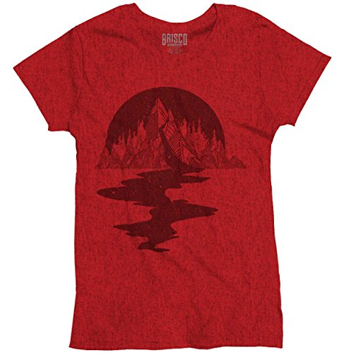 Bleeding Mountain Stylish Symbolic Beautiful Spirit Animal Ladies T Shirt