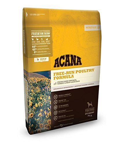 ACANA Heritage Free Run Poultry Dry Dog Food (25 lb)