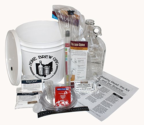 Home Brew Ohio One Gallon Mead Starter Kit