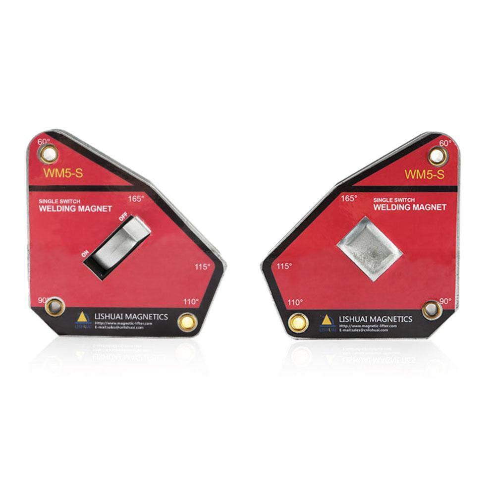 Bulary Magnete di Saldatura al neodimio Forza Forte Multi-Angolo di Grandi Dimensioni//Magnete di Industria Magnetica Morsetto NdFeB 1 Pz