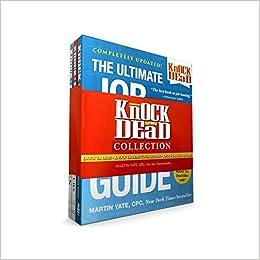 Knock U0027em Dead Collection: Knock U0027em Dead; Knock U0027em Dead Cover Letters;  Knock U0027em Dead Resumes: Martin Yate CPC: 9781507206775: Amazon.com: Books  Knock Em Dead Cover Letters