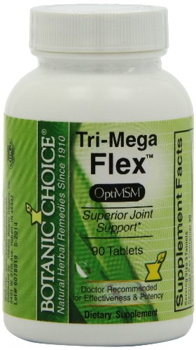 Botanic Choice Tri-Mega Flex comprimés, 90-Count Bottle