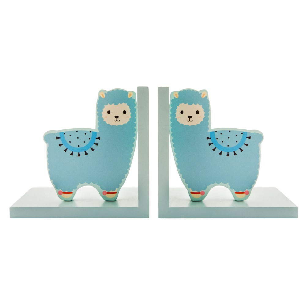 Sass & Belle - Little Llama - Fermalibri in legno Sass and Belle
