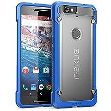 Nexus 6P Case, SUPCASE Google Nexus 6P Case Cover (2015 Release) Unicorn Beetle Series Premium **Slim** Hybrid Protective Case / Bumper (Frost/Blue)