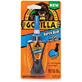 Gorilla Micro Precise Super Glue, 5 gram, Clear, (Pack of 1)