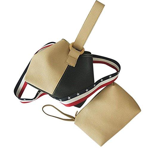 NXDA Bag Khaki Handbag Women Khaki Hasp For PU Women For Wallet Crossbody Vintage Girl Bag Shoulder Clutch nSZSr8pwWq
