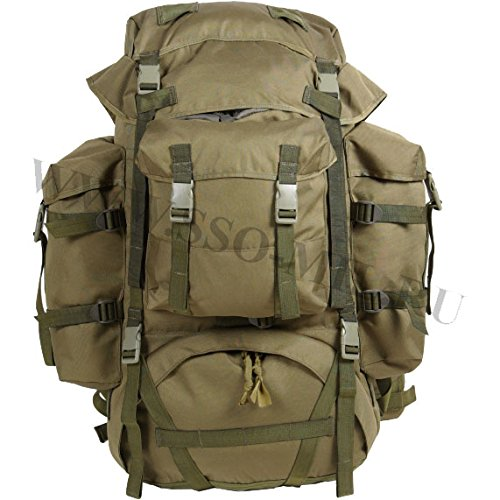 - Original Russian army special forces Backpack with raid armor ATTACK-2, 60L, olive, SSO