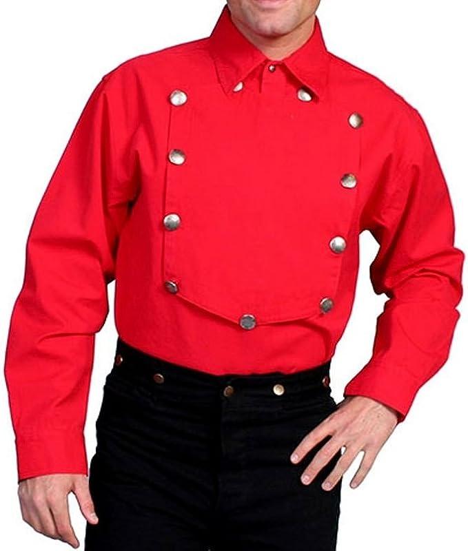 Western Bib Shirt for men