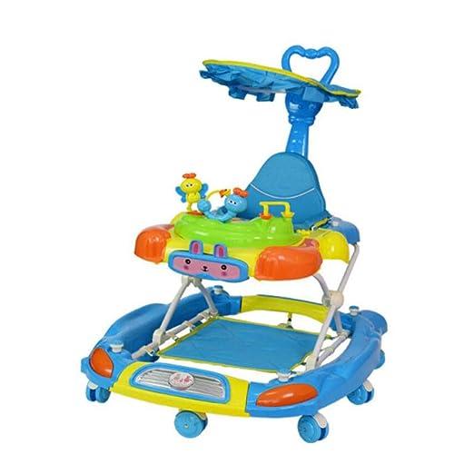 WUYY Andadores Beby 2 En 1,Blue: Amazon.es: Hogar