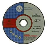 6''x.045''x7/8'' Quality Thin Cut Off Wheel Stainless - 100 Pack