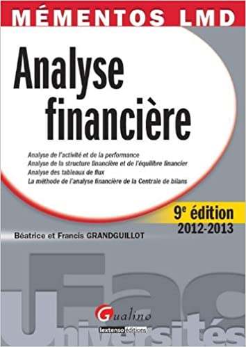 Livre gratuits Analyse financière pdf
