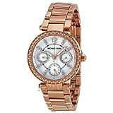 7c88cd271a8a Michael Kors Women s Parker Rose Gold-Tone Watch MK5616