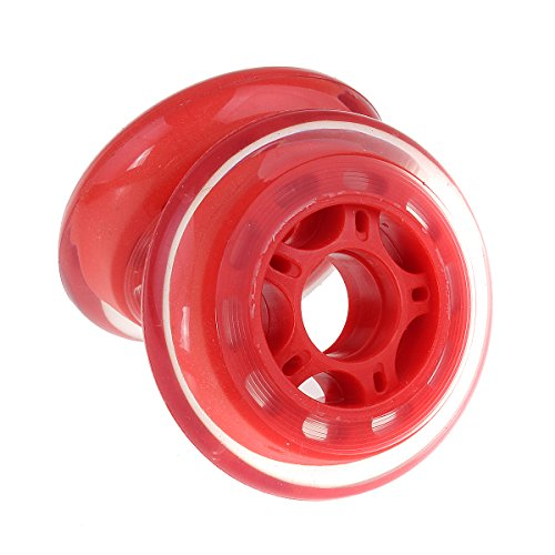 2pcs 80 mm 88 a透明クリスタルPU耐摩耗性スクーターWheels – 3 Colors Available