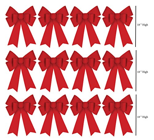pre made bows for wreaths - 5