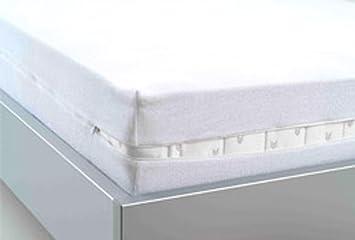 ENCASING Matratzenschutzbezug Milben- Allergie- & Nässeschutz für ...