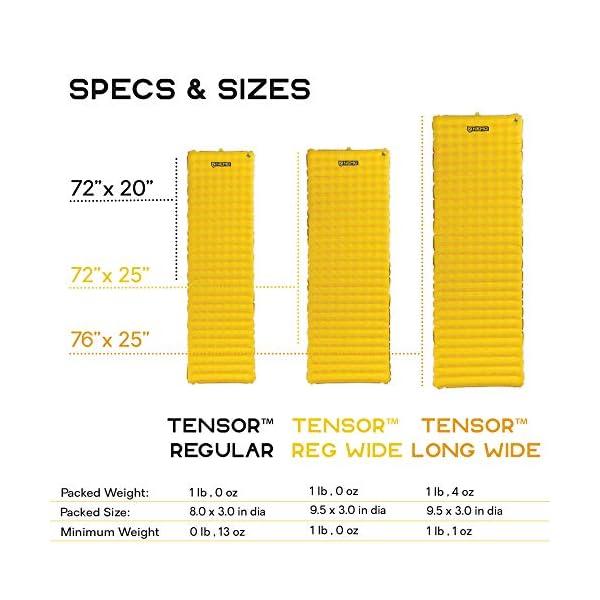 Nemo Tensor Ultralight Sleeping Pad, Regular Wide 6