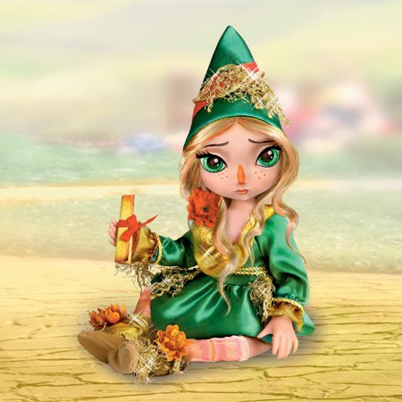 Ashton Drake Wizard of Oz Scarecrow Articulated Doll