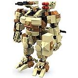 マイビルド (MyBuild) ブロックメカフレーム SFシリーズ 可動フィギュア-タイタン 高さ15cm 6012
