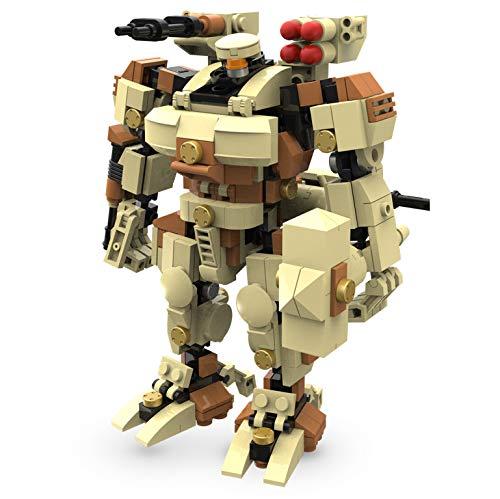 MyBuild Mecha Frame Robot Bricks Construction Blocks Toy Figure Sci-Fi Series (Titan 6012) (Mech Building Kit)
