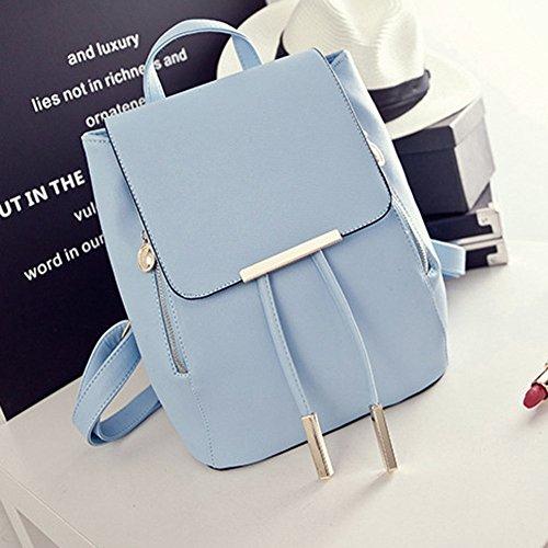 Women's PU Leather Satchel Shoulder Backpack School Rucksack Bags Travel - Fashion 9.99
