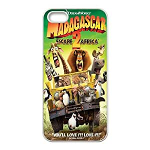 iphone5 5s phone cases White Madagascar cell phone cases Beautiful gifts PYSY9399654