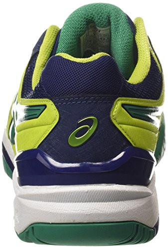 Gel 0588 Green 6 Lime Pine Blue Asics Tennis Resolution Indigo Men's Shoes qxAZn1PBdw