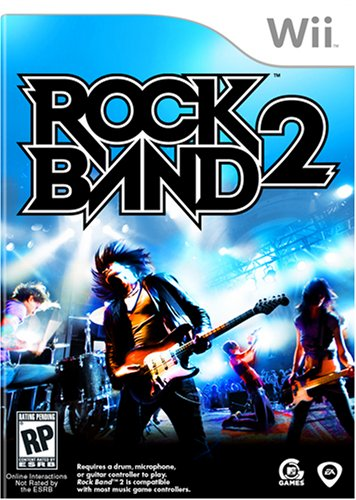 (Rock Band 2 - Nintendo Wii (Game only))