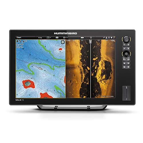 Humminbird Solix 15 Chirp Mega SI GPS Fishfinder Combo ()