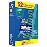 Men's Gillette Sensor PLUS2 Disposable Razor with