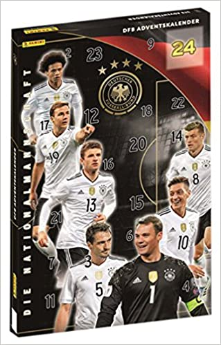 Lovely DFB Nationalmannschaft: Adventskalender Mit ScanWish Funktion:  Amazon.co.uk: 4026898002441: Books