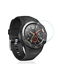 2PCS HD Clear Anti-Scratch Tempered Glass Screen Protector Film For Huawei Watch 2 2nd Generation