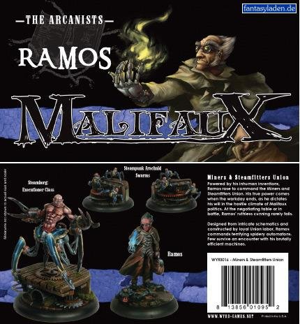 Ramos Miners and Steamfitters Union Crew Box Set - Malifaux Arcanists by Wyrd Miniatures 3