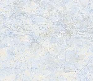 Azul claro cartas n uticas papel pintado - Papel pintado amazon ...