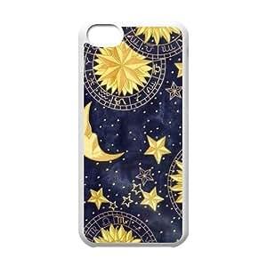 Sun Moon Phone Case for Iphone 5C,diy Sun Moon phone case series 1